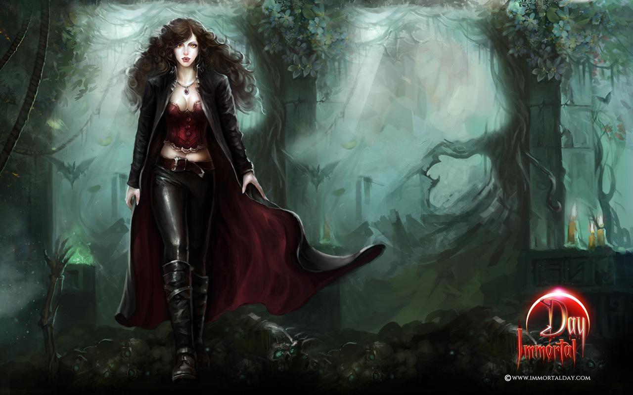 Marketing Wallpapers Vampire Lycan Hunter Hybrid Zombie